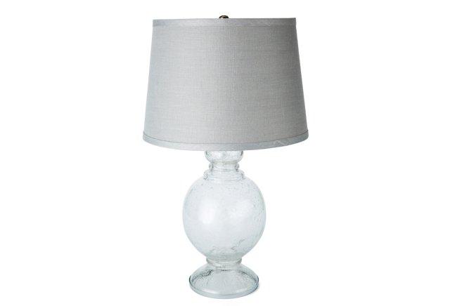 X-Small St. Charles Lamp, Gray