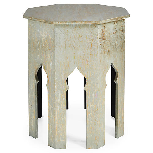 Tangier Table, Silver