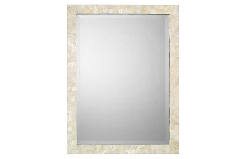 Liam Wall Mirror Mother Of Pearl Jamie Young Brands One Kings Lane