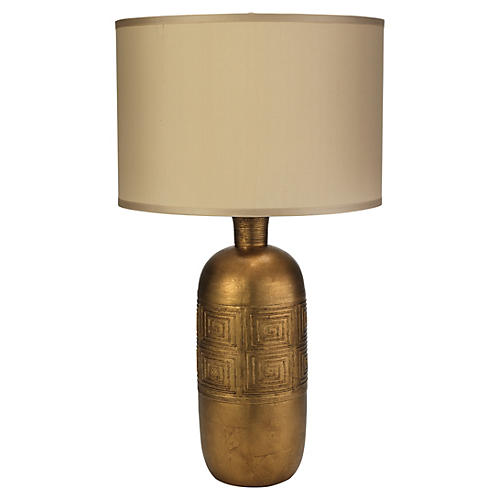 Kronos Table Lamp, Gold