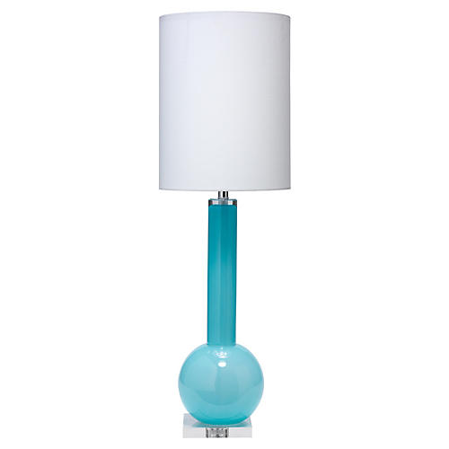 Studio Table Lamp, Blue