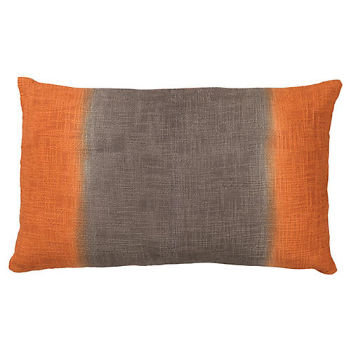 Marcus 16x26 Cotton Pillow, Orange