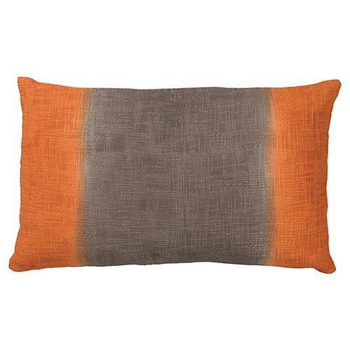 Marcus 16x26 Cotton Pillow, Orange
