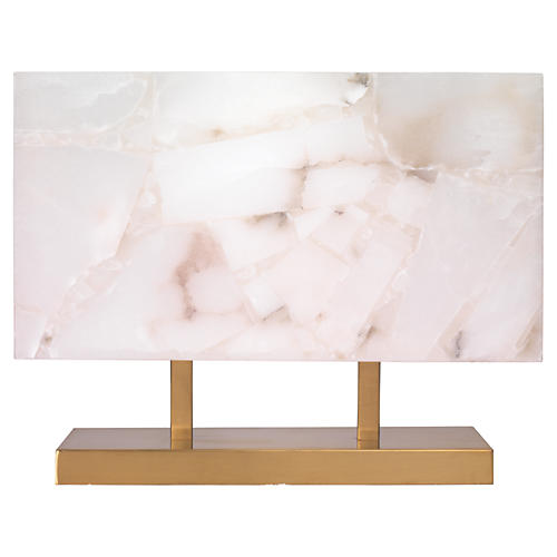 Ghost Horizon Table Lamp, Alabaster