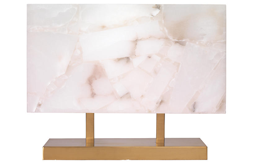 Ghost Horizon Table Lamp, Alabaster