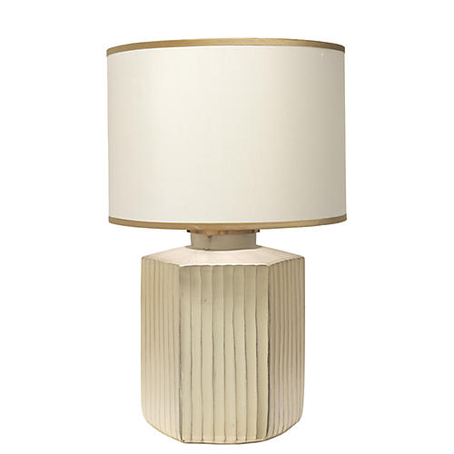 Anderson Table Lamp, Frosted Gold