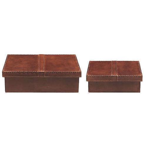 S/2 Frontera Boxes, Tobacco
