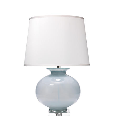 Heirloom Table Lamp, Cornflower Blue