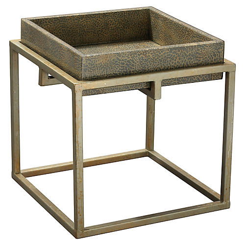 Shelby Tray Table, Gray