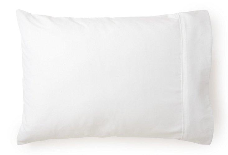 S/2 Lux Pillowcases, White