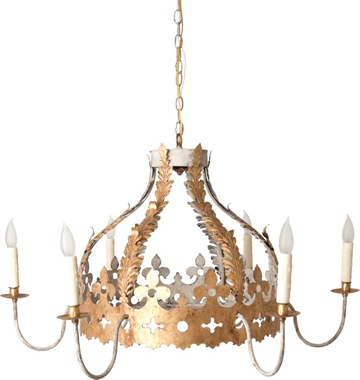 Carol's Crown Chandelier