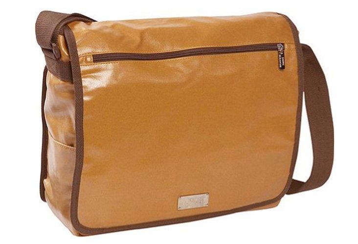 Computer Messenger Bag, Camel