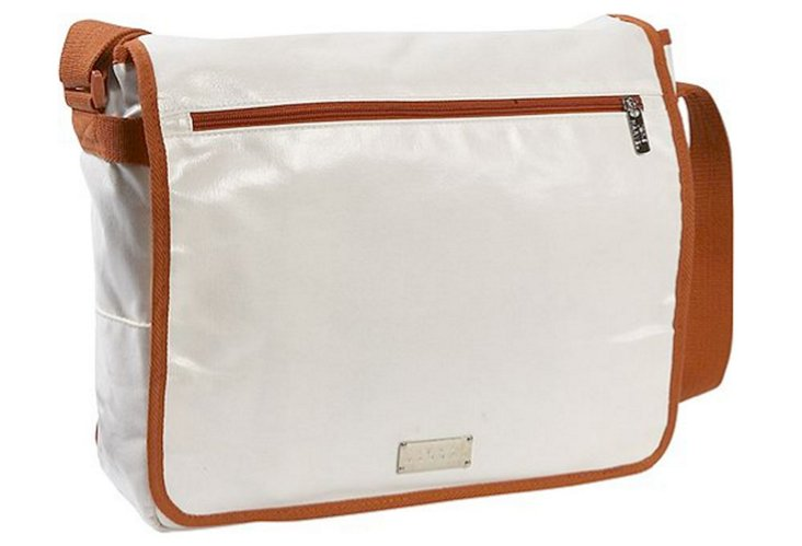 Computer Messenger Bag, White