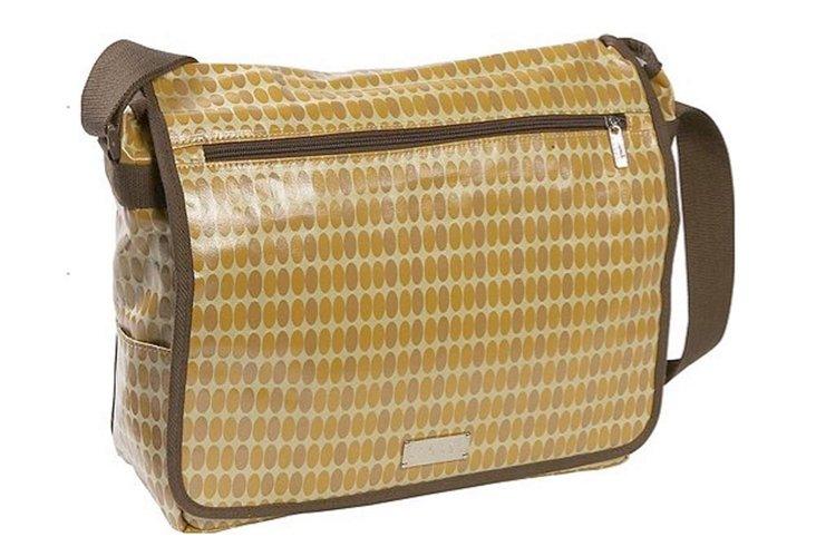 Computer Messenger Bag, Pearl