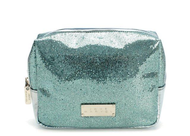 Gusset Cosmetic Bag, Teal