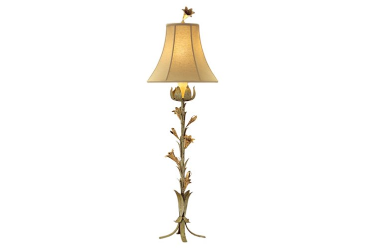 French Garden Lamp