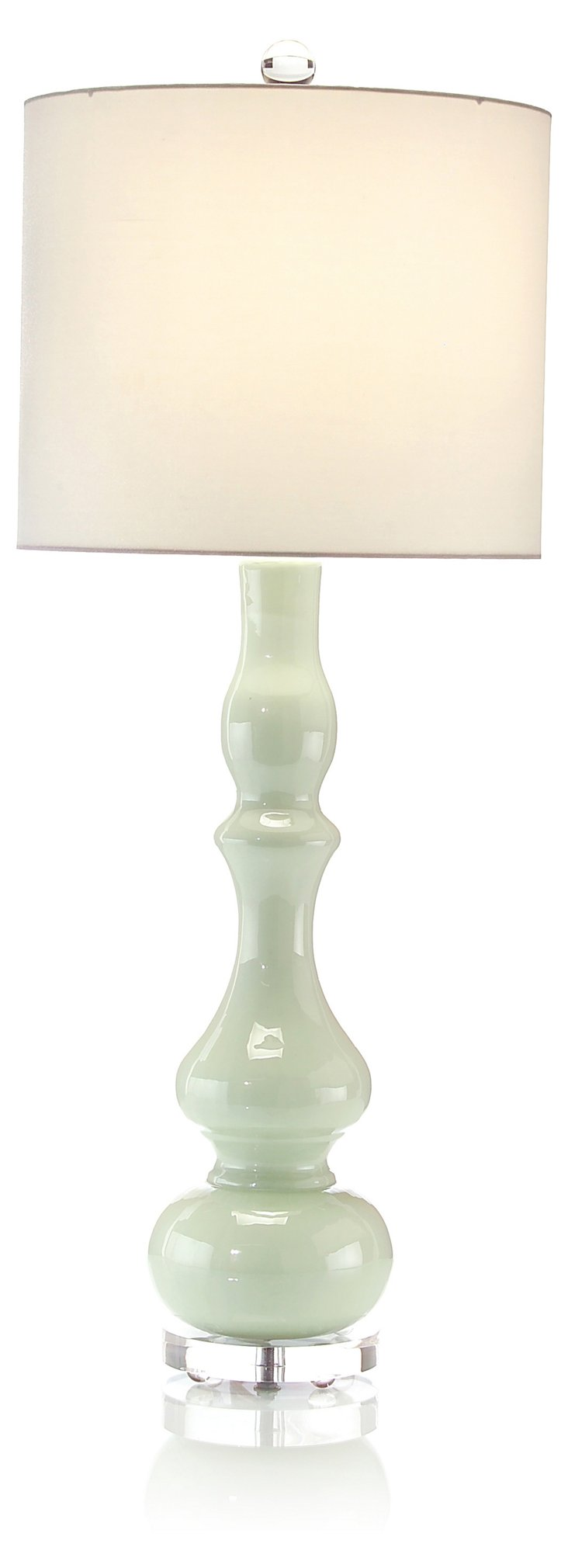 Olivia Buffet Lamp, Mint
