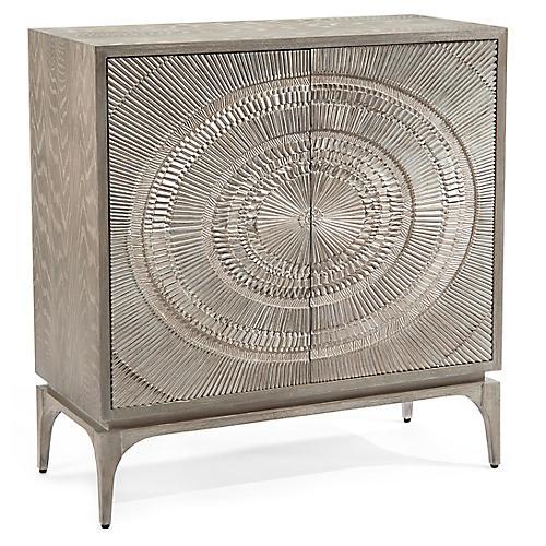 Cosmos Cabinet, Gray Oak
