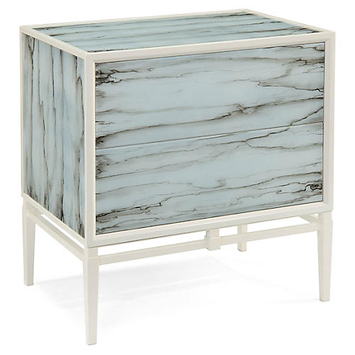 Carrera Nightstand, Alabaster