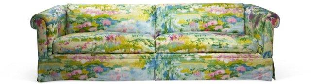 Vintage Floral Sofa II