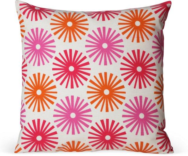Sizzling Starburst Pillow