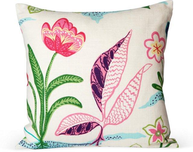 Frisky Floral Pillow V