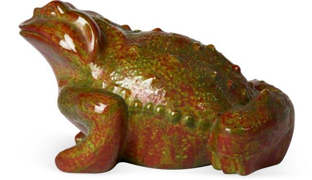 Oversize Ceramic Toad
