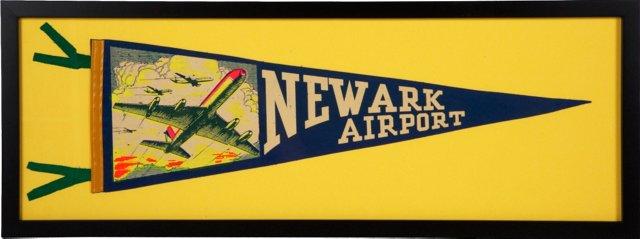 Newark Airport Pennant