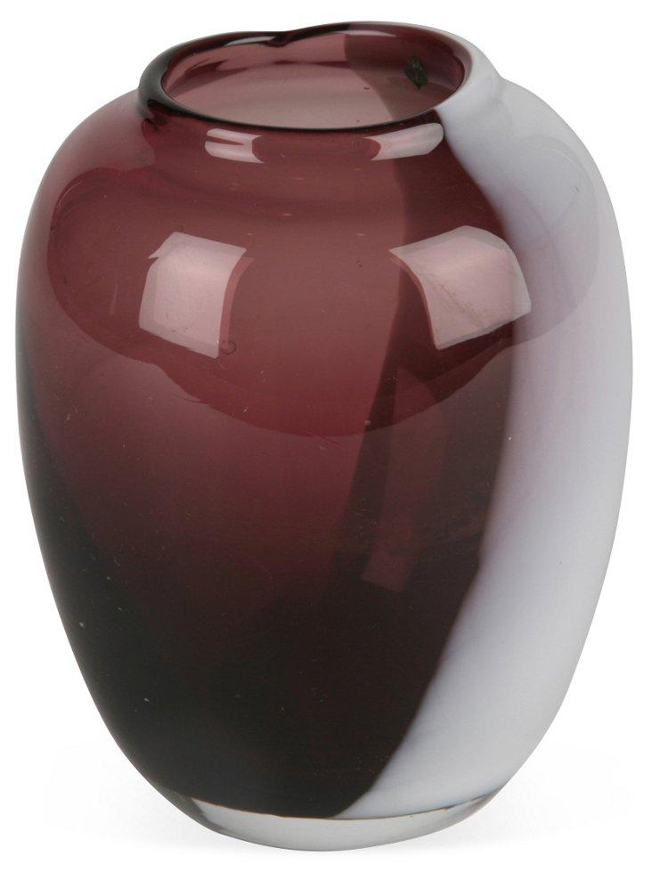 Swirl Murano Bud Vase