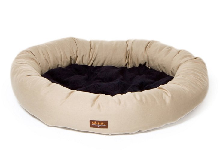Donut Bed, Solid Khaki