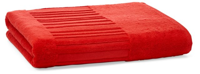 Spa Bath Sheet, Strawberry