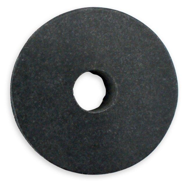 Black Granite Circle Candleholder