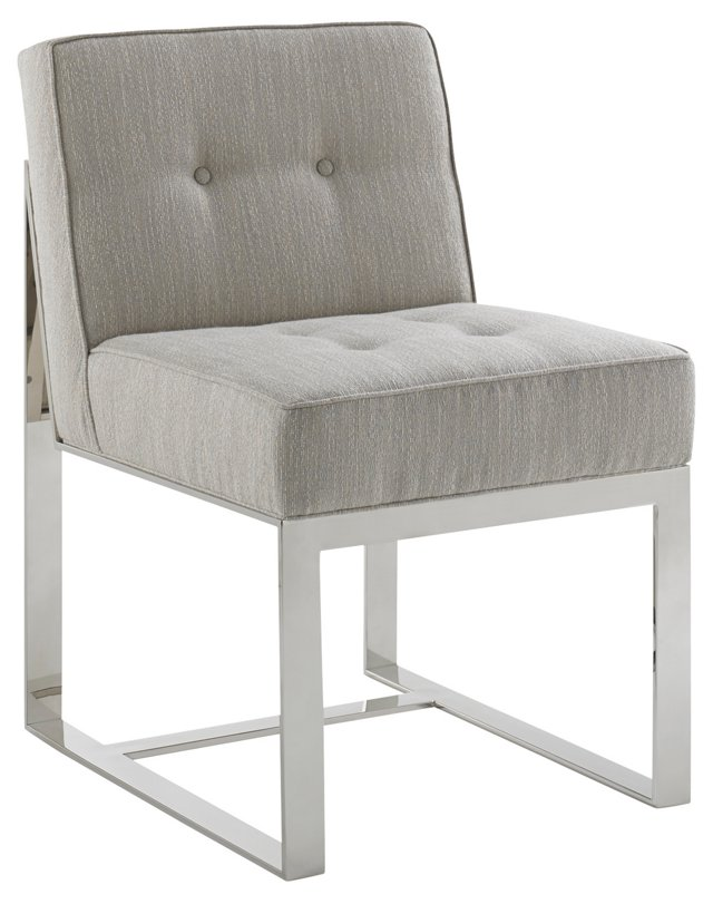Marco Side Chair, Gray