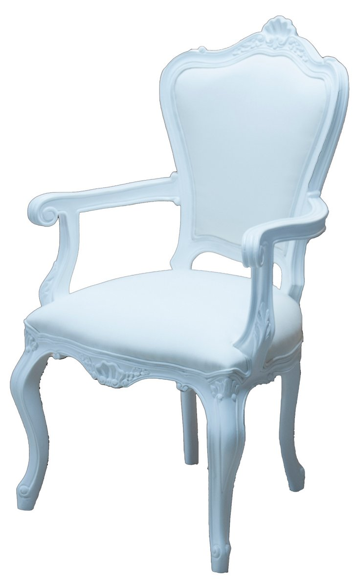 Chantilly Outdoor Armchair, White