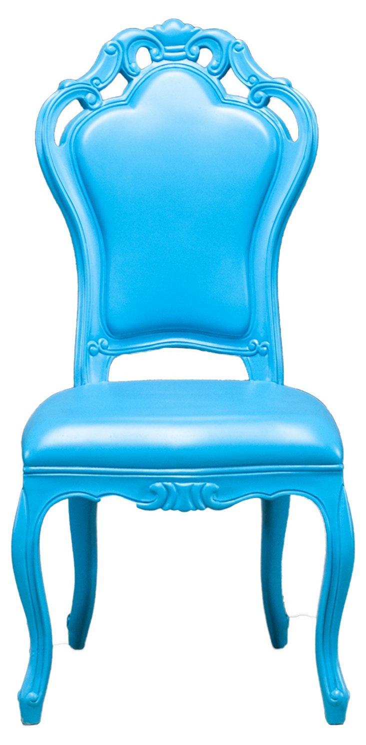 Fontainebleau Outdoor Chair, Blue