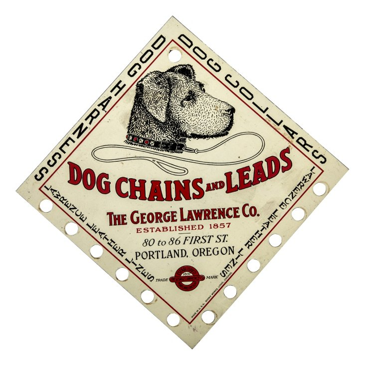 Dog Chains & Leads Sign