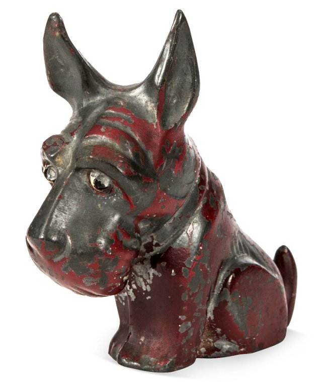 Art Deco Metal Scottie