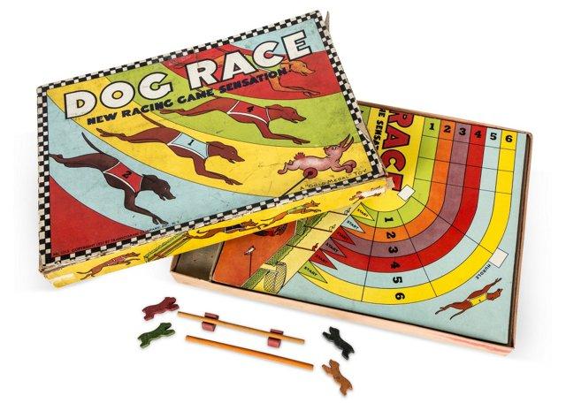 Dog Race Board Game