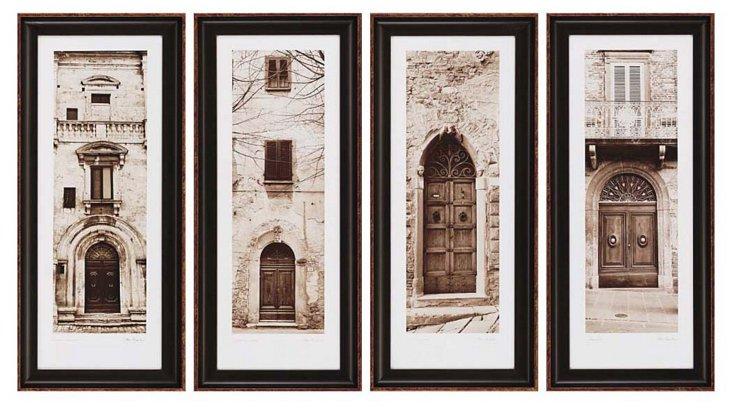 Alan Blaustein, La Porta, Set of 4
