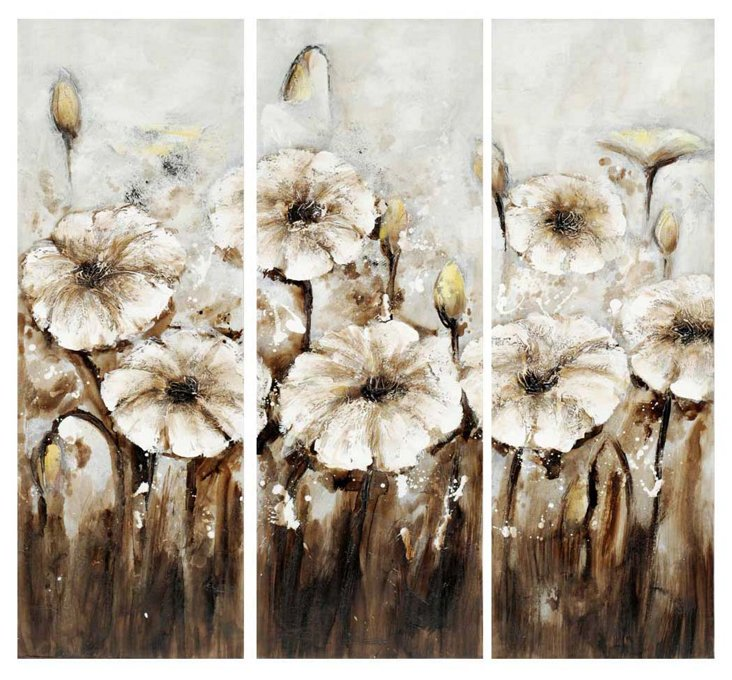 Florescence Triptych