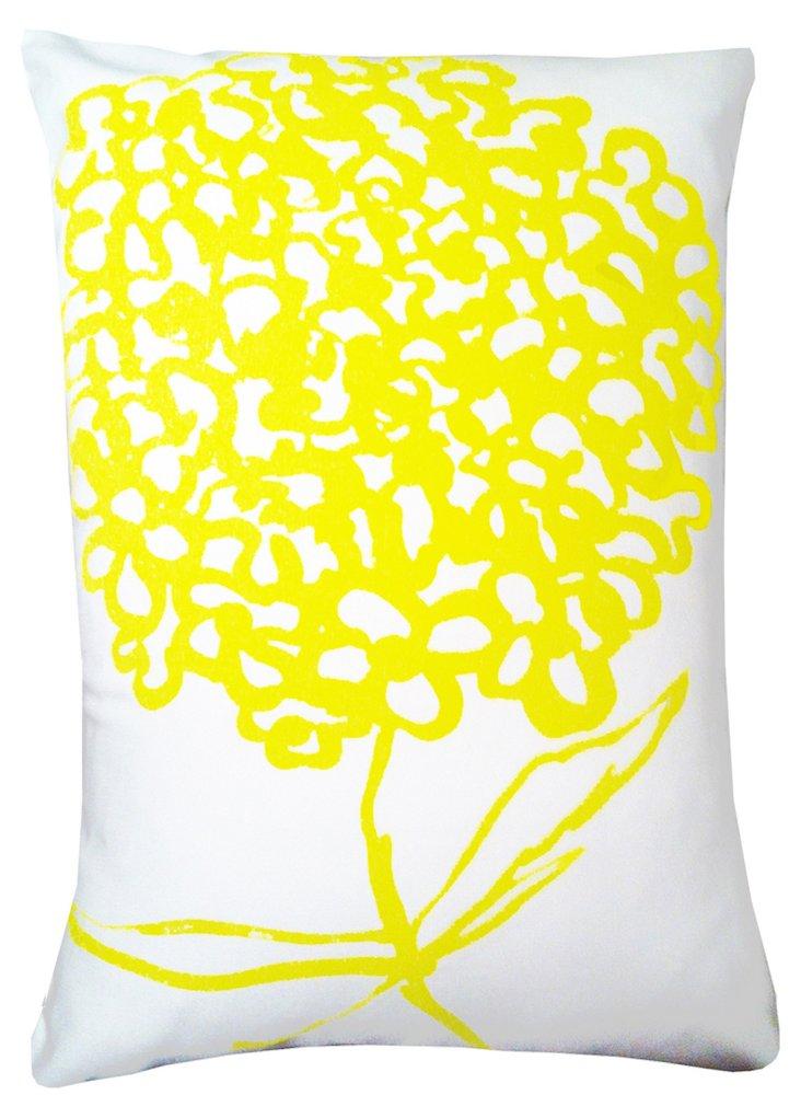 Cherimum 14x20 Pillow, Yellow