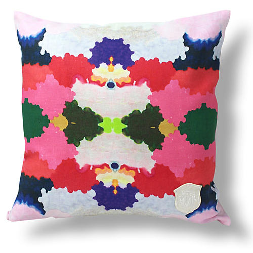 Keleidoscope 18x18 Linen Pillow
