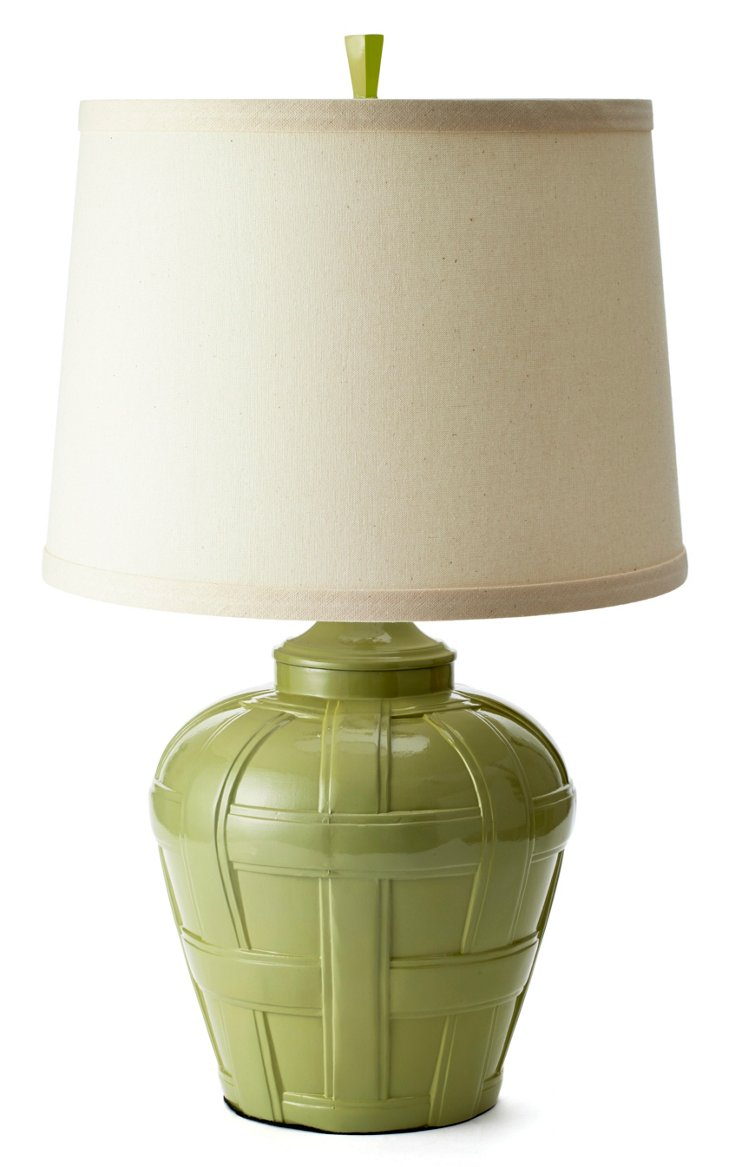 Bristol Table Lamp, Celadon