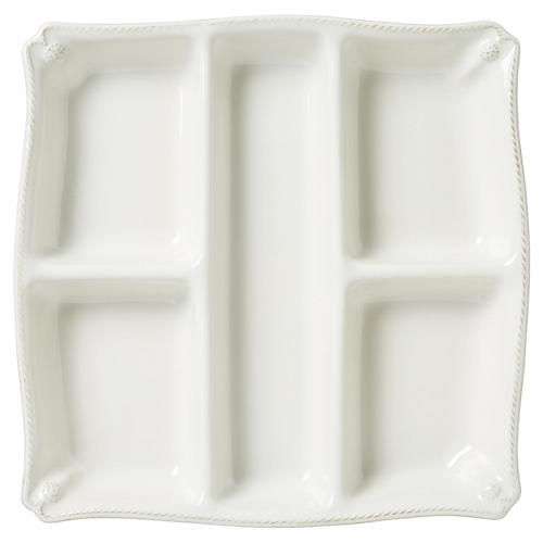 Berry & Thread Snack Platter, White