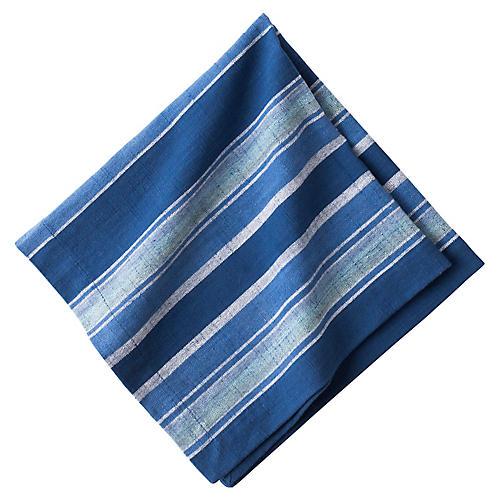Stripe Napkin, Indigo