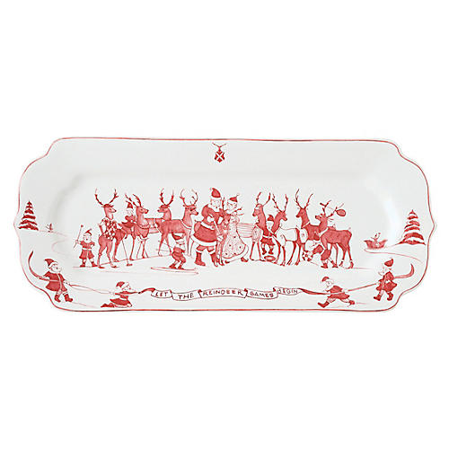Reindeer Games Serving Tray, Multi