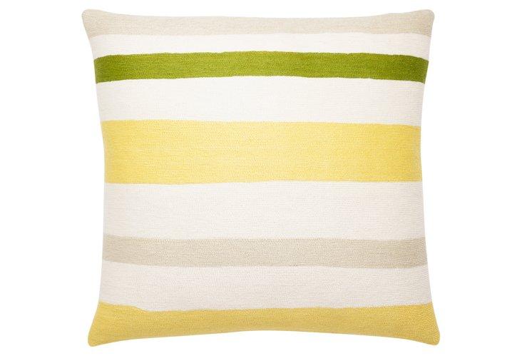 Horizon 18x18 Pillow, Cream