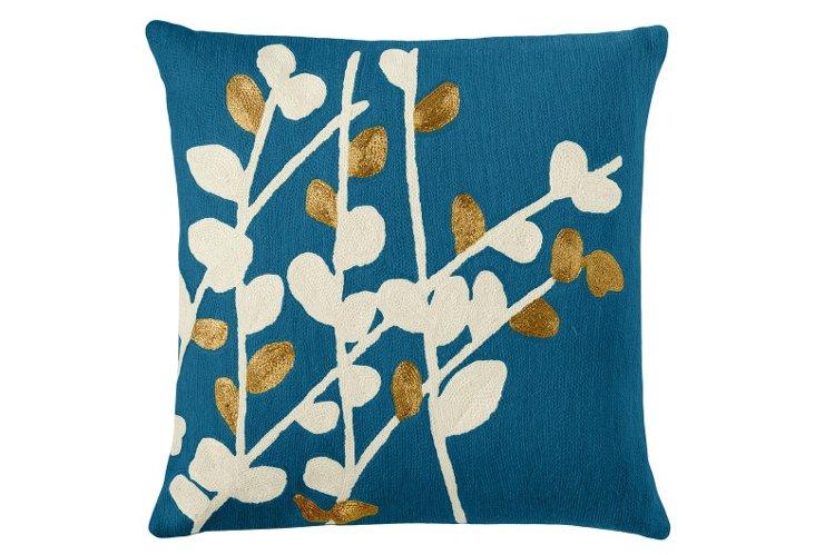 Spray 20x20 Pillow, Tropical Blue