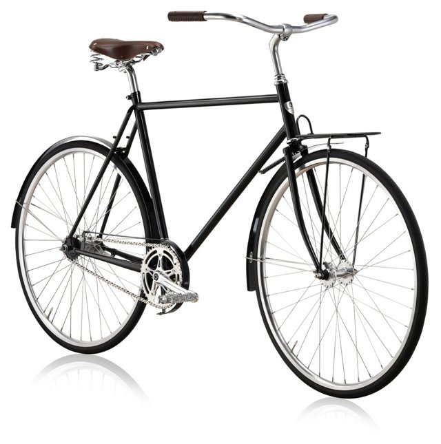 Majestic Bicycle, Black/Brown