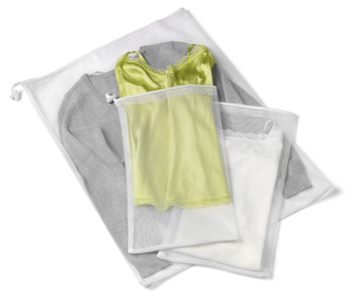 6-Pc Laundry Wash Bag Set